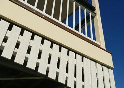 Queenslander deck/ carport at Yeronga