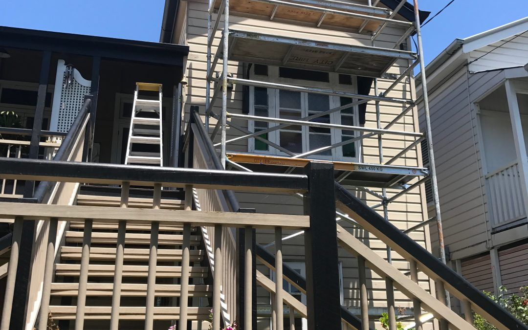 Fascia and gable repairs at Clayfield